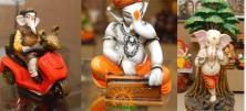 Lord Ganesha in various avatara