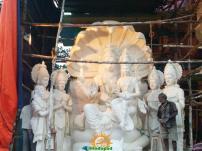 Making of Khairatabad Ganesha 1