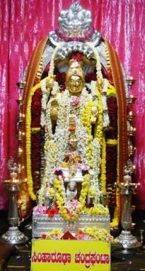 3rd day Navratri Horanadu Annapurneshwari Temple no-watermark