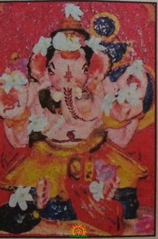 707 yrs Clay Ganesha