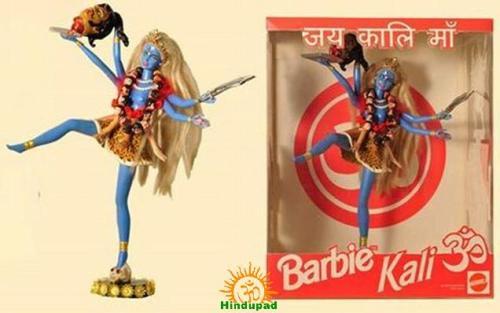 Barbie doll Goddess Kali