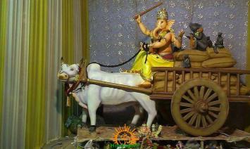 Durga Seva Sangh Ganesh Mandal in Osman Shahi Gowliguda Chaman