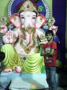 Ganpati Bappa Moriya fans club Murali Nagar Kabutar Khana