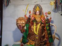 Gayatri Alankaram at Indraprastha Colony Temple