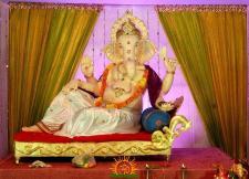 Gujrathi samaj Ganesh, gujrath bhavan, kumarpet,Adilabad
