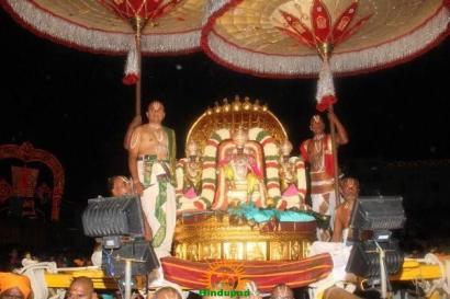 Pedda Sesha Vahanam in TTD Brahmotsavam 15
