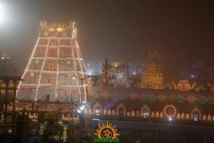 Pedda Sesha Vahanam in TTD Brahmotsavam 5