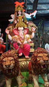 Sree Vaishnavi Ganesh Ustav Samati Kishanbagh Bahadurpura 2