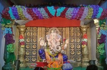 Vishwakarma Ganesh mandal, Ashok road,Adilabad 1