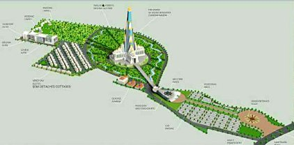 Chandrodaya Mandir Vrindavan model structure no-watermark