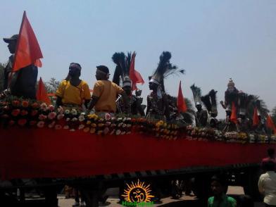 14 Hyderabad Ram Navami Shobha Yatra 2015