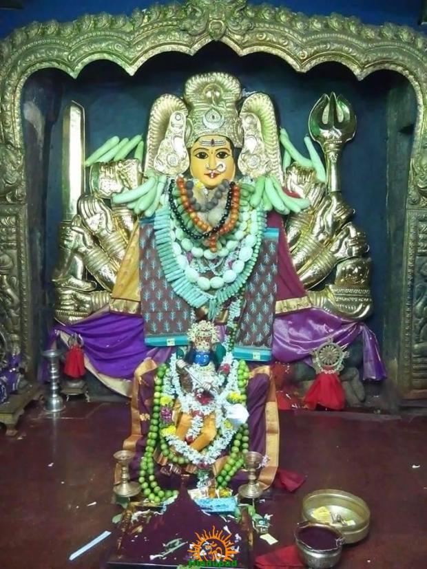 Kurukulla Kramam 4th day Shakambari Festival at Hanamkonda Bhadrakali Temple