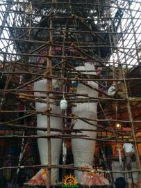 Making of Khairatabad Ganesh 2015 12