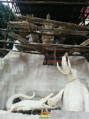 Making of Khairatabad Ganesh 2015 22