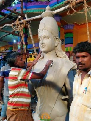 Making of Khairatabad Ganesh 2015 5