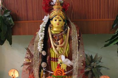 Varalakshmi Vratham Decoration design 22