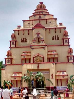 111 feet Ganesha Mandapam in Gajuwaka Vizag no-watermark