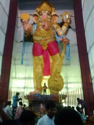 111 feet Ganesha at Vizag no-watermark
