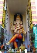 63 feet Vinayakudu in Vijayawada 2015
