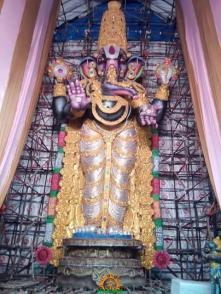 82-feet Gajuwaka Ganesh idol by VISWA