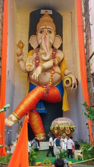 Natya Ganesha at Vijayawada 2015
