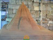 Alampur Pushkaralu Sand Sculpture