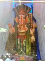 108-feet Ganesh at Vizag MVP Colony 2
