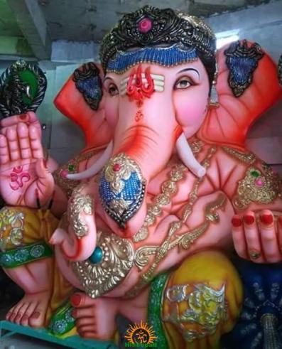 Balapur Ganesh 2016 setting 2