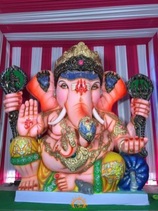 Balapur Ganesh 2016 setting 8