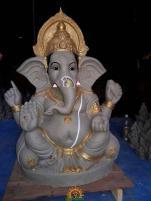 Clay Ganesha 3.5 feet