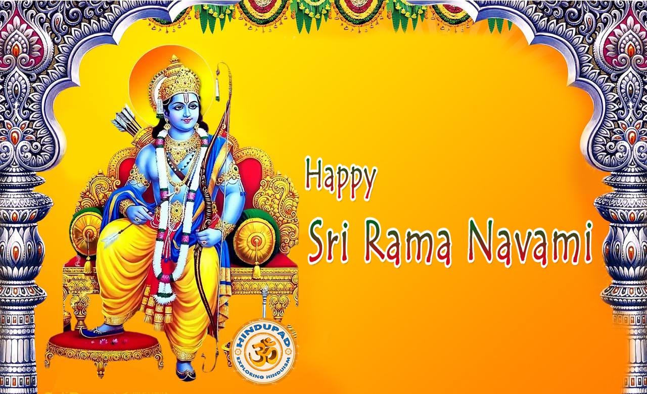 Sri Rama Navami Egreeting Cards 2018 Ram Navami Wallpapers Hindupad