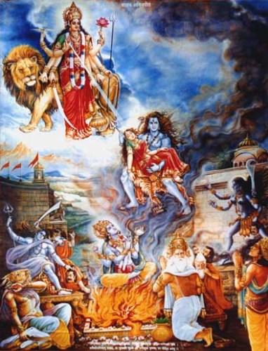 Daksha Yagna Shiva