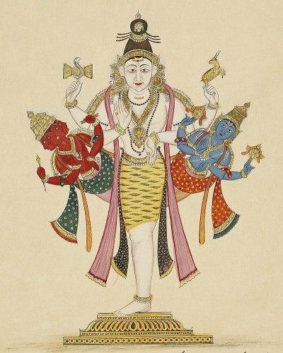 Ekapada Murthy Shiva