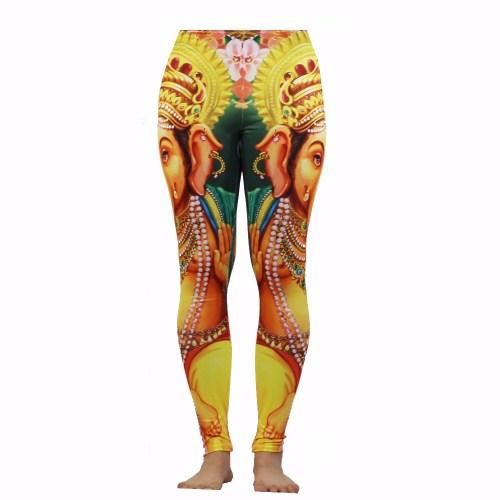 Ganesha Yoga Leggings by MundoBuda