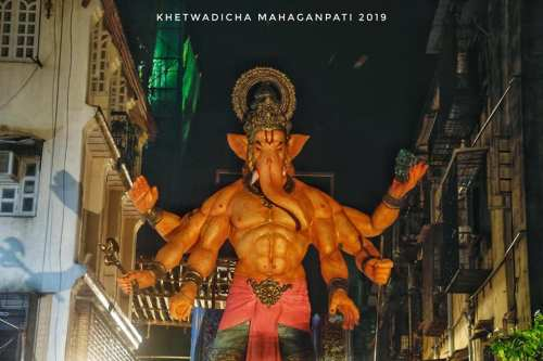 Khetwadi Cha Maha Ganapati 2019 2 Khetwadi 7th Galli Ganesh