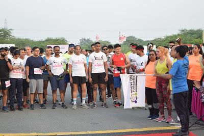 Marathon on Run for Your Mom Theme organized by Grow on Foundation