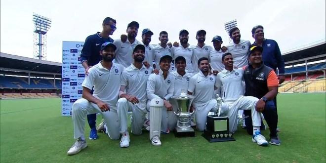 Duleep trophy 2019 final: इंडिया ग्रीन को पारी और 38 रन से हराकर इंडिया रेड बनी दिलीप ट्रॉफी की विजेता
