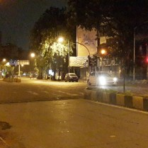 Empty Linking Road @ Night