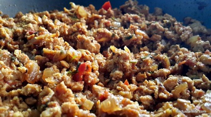 How to make Keema (Dry)