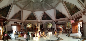 ISKCON Temple Delhi - Main Hall