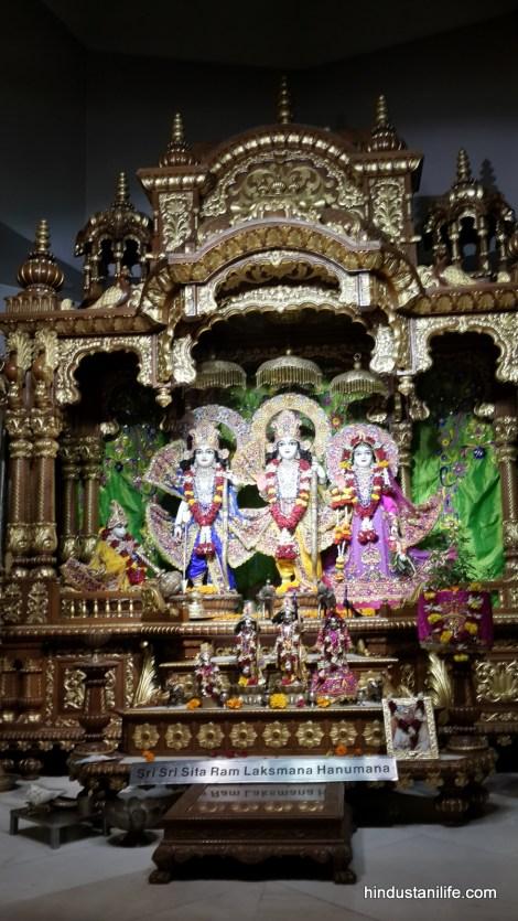 ISKCON Temple Delhi - Sita, Ram, Lakshman, Hanuman