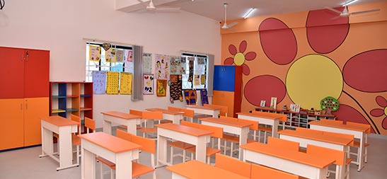 best classroom facilities at international school chennai