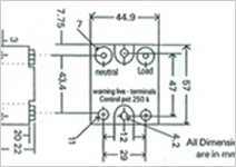 High Power Phase Angle Control Relays, DC to AC Solid