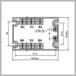 Three Phase DC To DC Solid State Relays, SSR Manufacturer