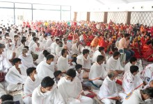 1008 Jain Businessmen professionals women women entrepreneurs lived a life of a Jain monk for a day to experience Monks life