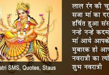 Maa Durga Images With Quotes In Hindi