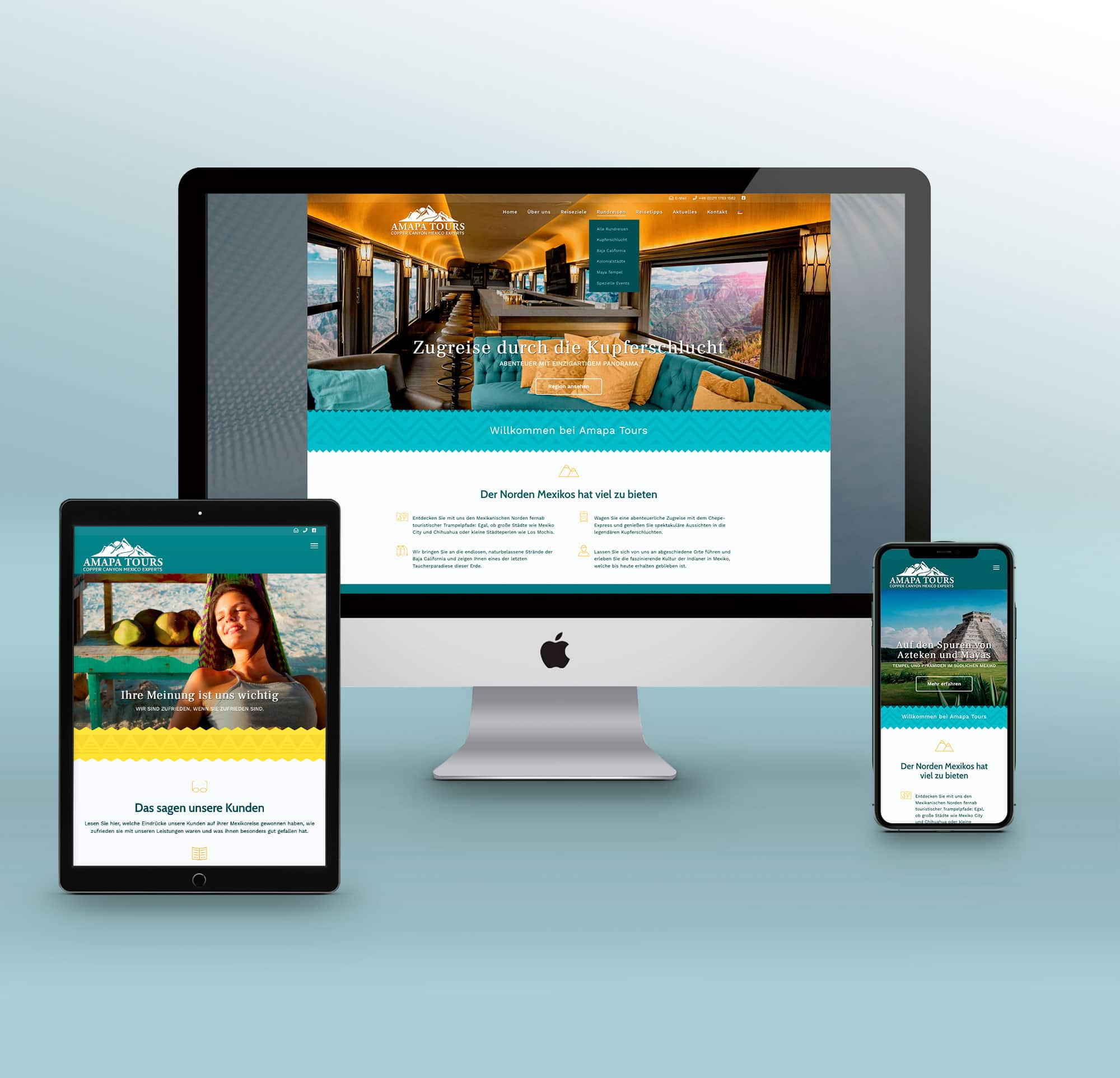 Webdesign Reiseveranstalter