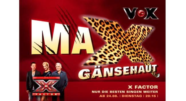 Kampagne für die Castingshow X-Faktor //entstanden bei der Sixpack Werbeagentur // Mein Part // Art Direction: Idee und Entwicklung