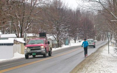 """Hinesburg's """"Official Map"""" includes sidewalks"""