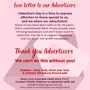 Thank You Advertisers!